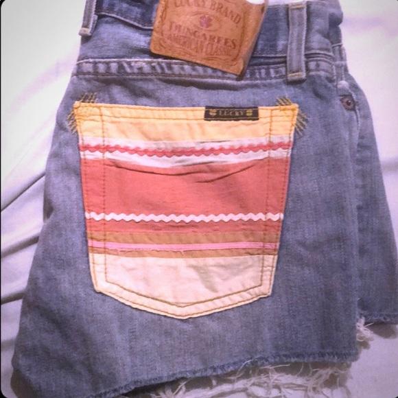 Lucky Brand Pants - Lucky Brand Blue Jean Shorts Size 2/26